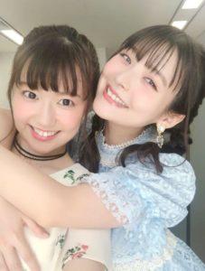 三澤紗千香と上坂すみれの仲良い画像