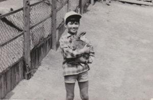 草刈正雄の昔(子供時代の画像)