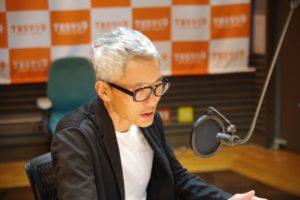 白髪の松重豊がTBSラジオで息子にキレた画像