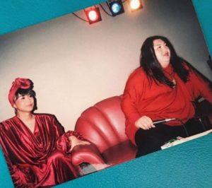 マツコ・デラックスとミッツマングローブの昔の写真