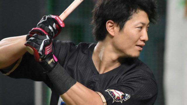 西川遥輝(日本ハム)の筋肉がムキってる!腕の太さが注目される