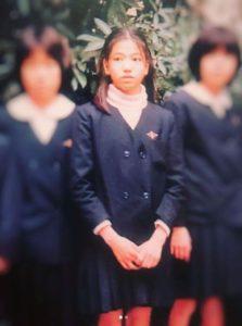 アンミカの昔、小学生時代の画像