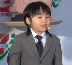 寺田心の成長と身長の確認画像(6歳)