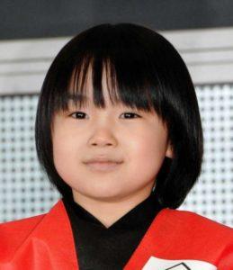 寺田心の成長と身長の確認画像(8歳)