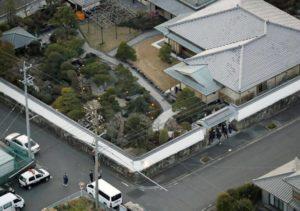 高山清司の自宅の上空写真