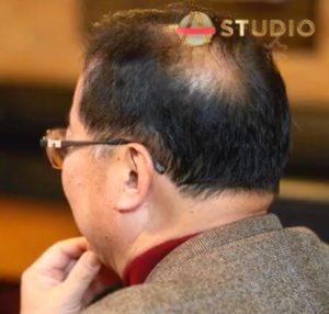 田中みな実の父親の後ろ姿の画像