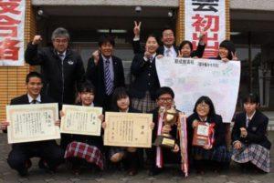 岡田健史が創成館高校の演劇部で九州代表に選ばれた集合写真