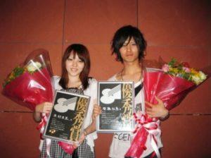 斉藤壮馬が高校2年生の時にオーディションで優秀賞を受賞した画像