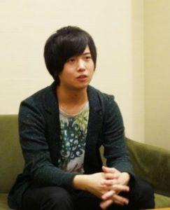 斉藤壮馬が高校時代の放送部についてインタビューを受けた画像