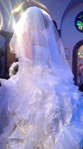 大政絢の姉の結婚式の画像