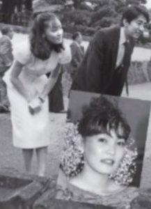 安倍昭恵と安倍晋三首相の若い頃の画像