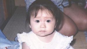 大島優子が子役になる前の幼少期画像