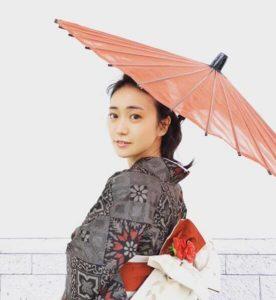 大島優子の和風姿の画像