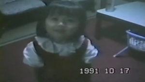 大島優子の幼少期時代(3歳)の画像