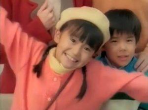 子役時代にJALのCMに出演した大島優子の画像(その2))