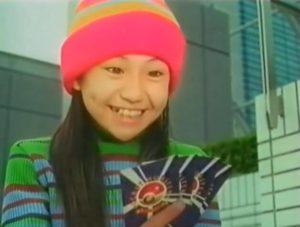 大島優子が子役時代にポケモンカードのCMに出演した画像