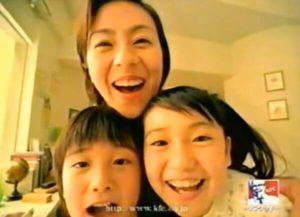 大島優子が子役時代にケンタッキーのCMに出演した画像(その1)
