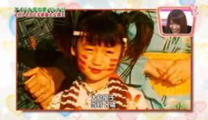 大島優子が子役時代『大怪獣東京に現わる』で映画デビューした画像
