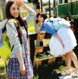 『non-no』モデル時代の野崎萌香と本田翼の画像