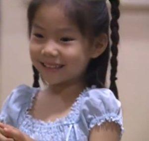 野村萬斎の子供の野村彩也子(長女)の幼少期の画像