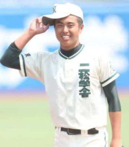 田中樹の弟(田中彗)の高校野球時代の画像