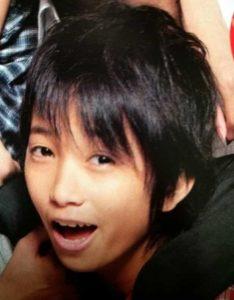 田中樹がジャニーズに入所したばかりの2008年Myojoの画像