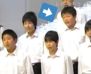 井口理が昔中学時代に合唱部でNHK全国学校音楽コンクールに出場した時の画像