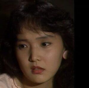 南果歩が若い頃にドラマ『橋の上においでよ』(1987年)に出演した画像