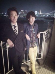 戸塚純貴と兄のツーショット画像
