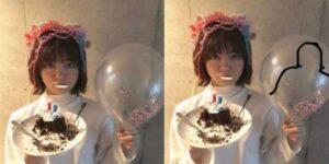 野々村はなの誕生日会に松村北斗が出席していた疑惑の画像