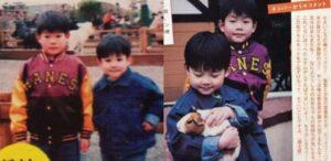 松村北斗と兄の幼い頃のツーショット画像