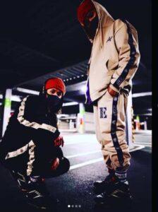 向井康二の兄が立ち上げたファッションブランド「エネベイク」のインスタグラムの画像