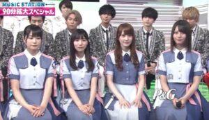 加藤史帆と玉森裕太(キスマイ)がミュージックステーションで共演した画像