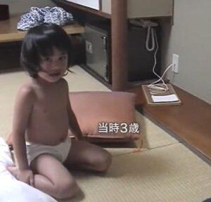 北村匠海の3歳の時の幼少画像