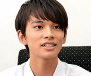 北村匠海が15歳の高校1年生だった時にインタビューを受けた時の画像